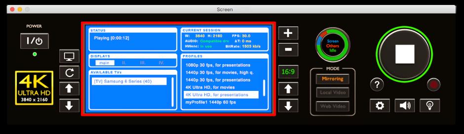 Screen to TV - Mirror your screen to Samsung, LG, Sony, Panasonic & DLNA